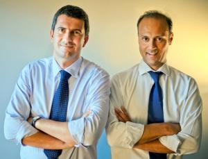 Doxee CEOs Paolo Cavicchioli e Sergio Muratori Casali