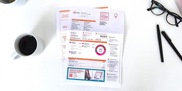 Bolletta 2 0 ed e billing logotel a supporto di enel for Enel gas bolletta