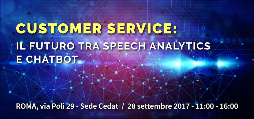Speech Analytics e Chatbot