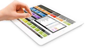 Screenshot - CC - Snapshot - Photo tablet on white background