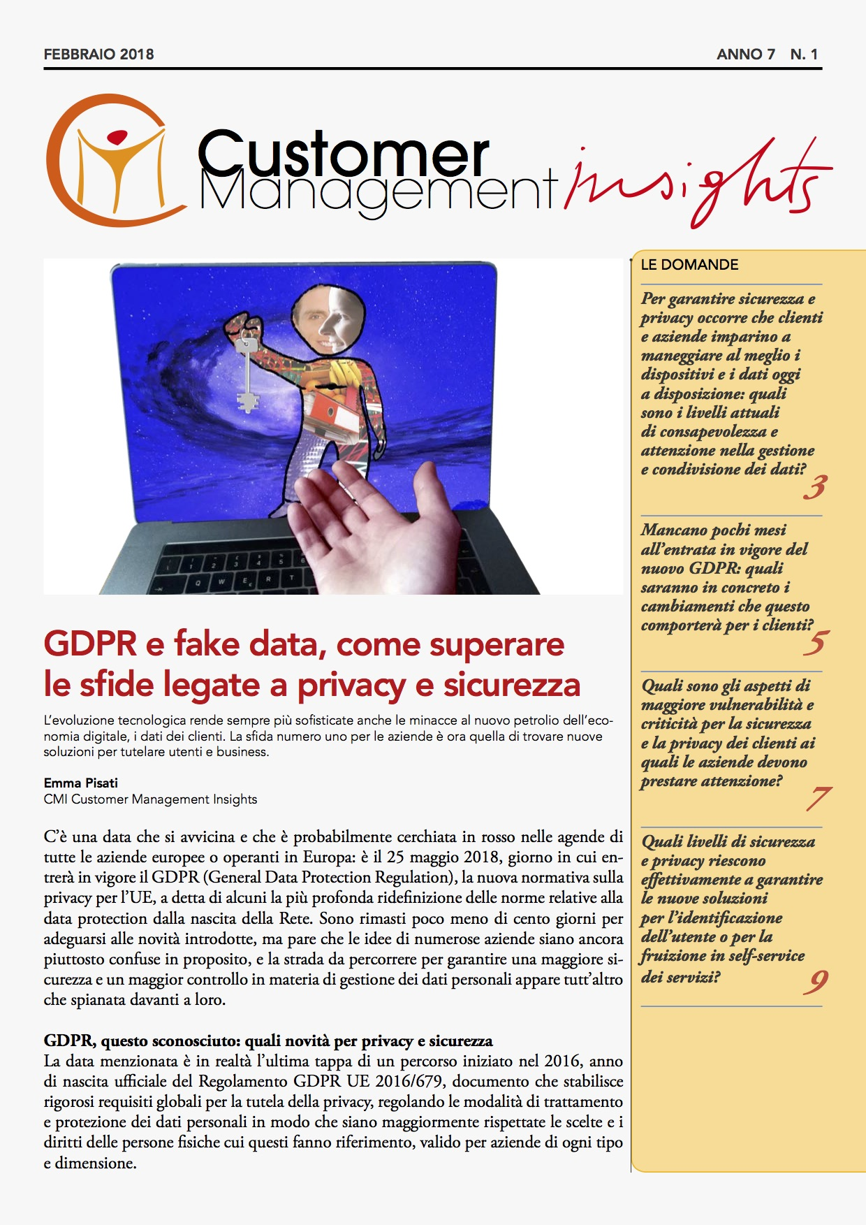 speciale privacy e sicurezza