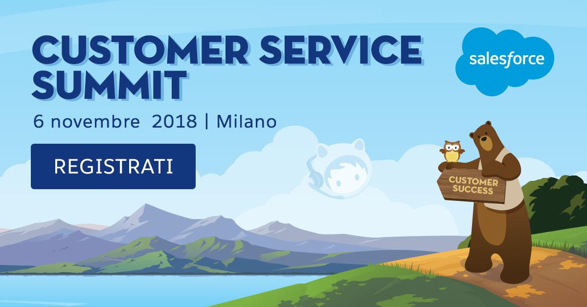 Customer Service Summit Milano
