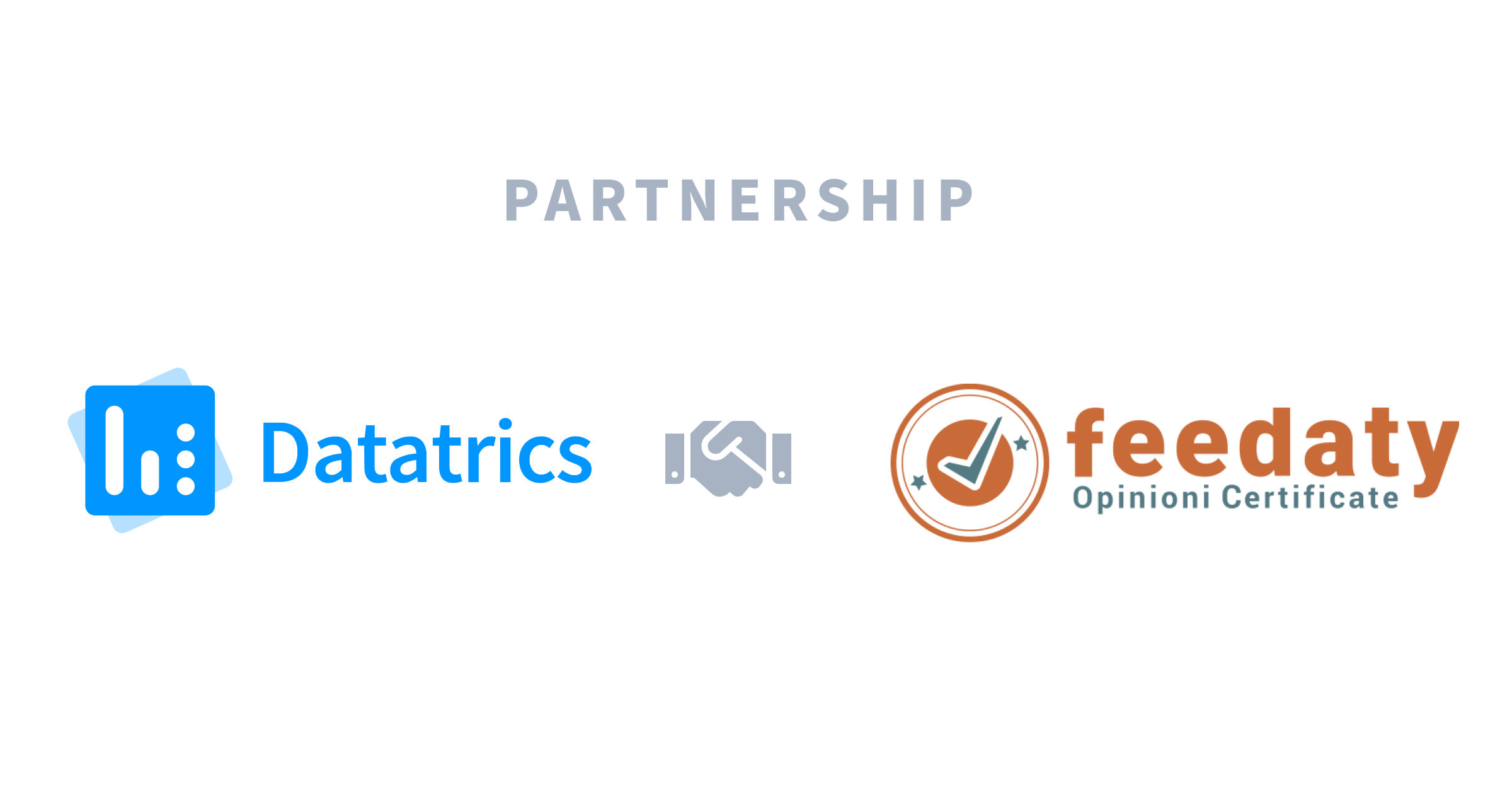 Partnership Datatrics e Feedaty