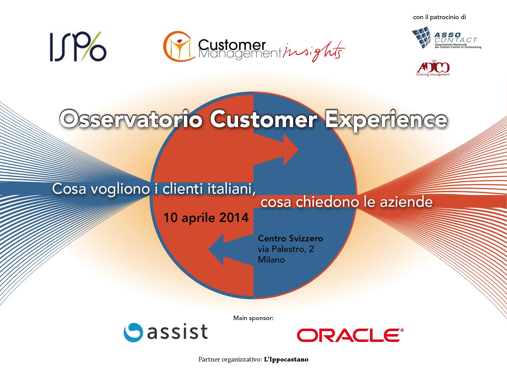 Osservatorio Customer Experience