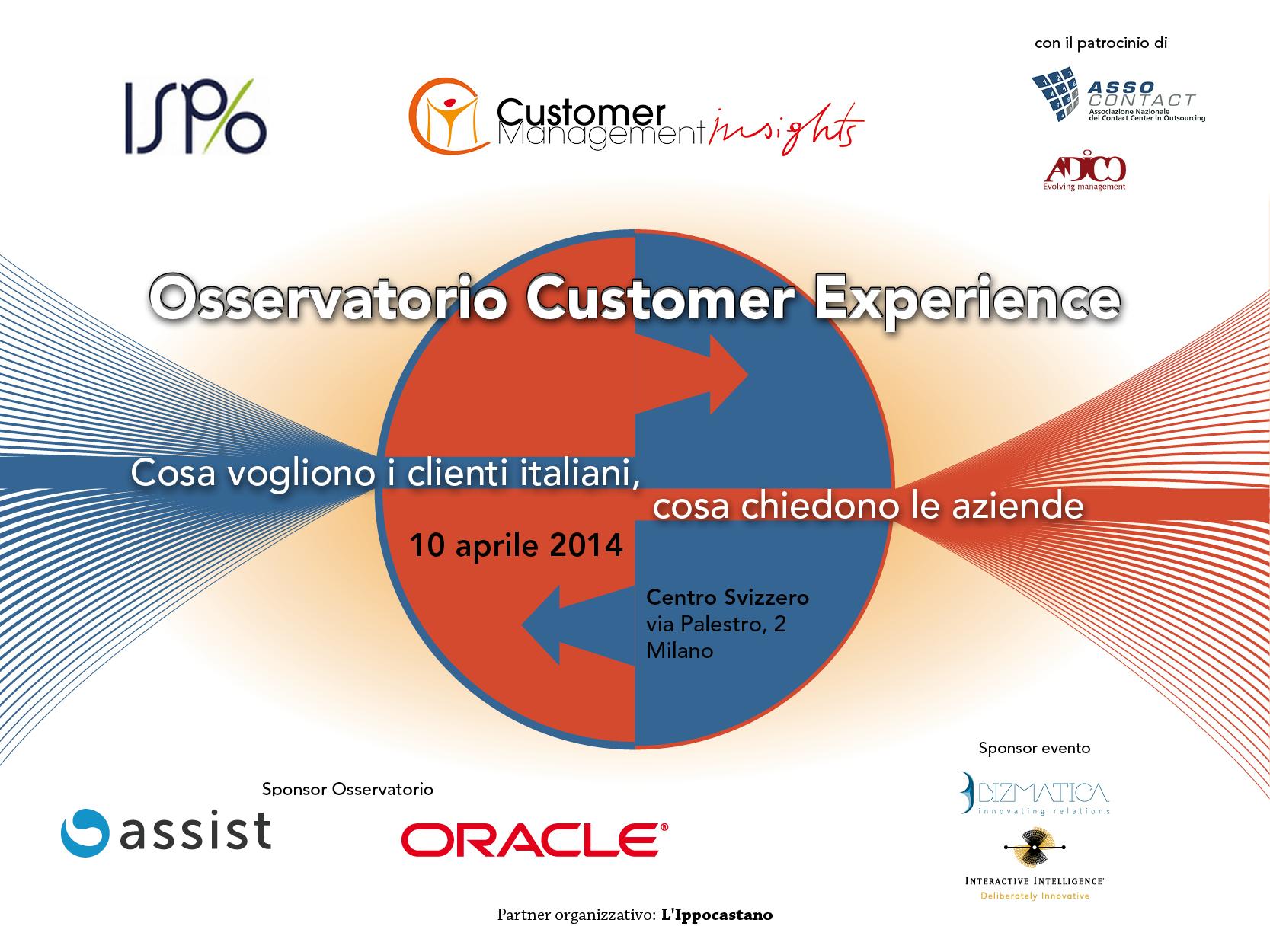 Customer Experience: cosa vogliono i clienti italiani, come rispondono le aziende
