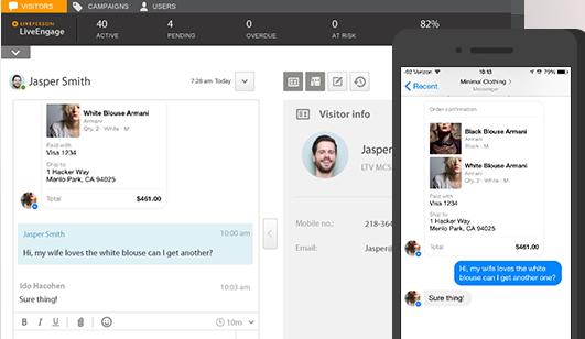 Facebook Messenger si integra con LiveEngage