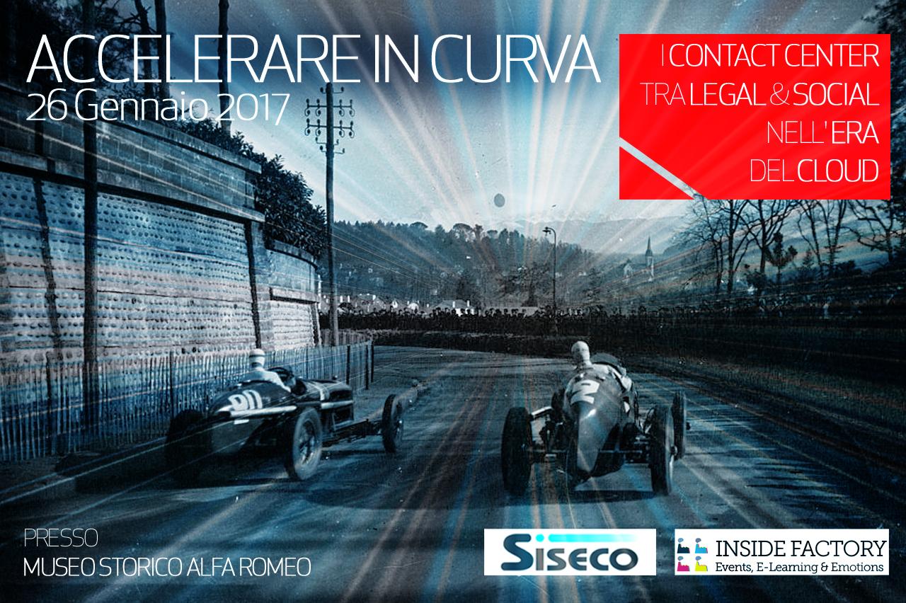 """""""Accelerare in curva"""": l'evento dedicato ai Contact Center si avvicina"""