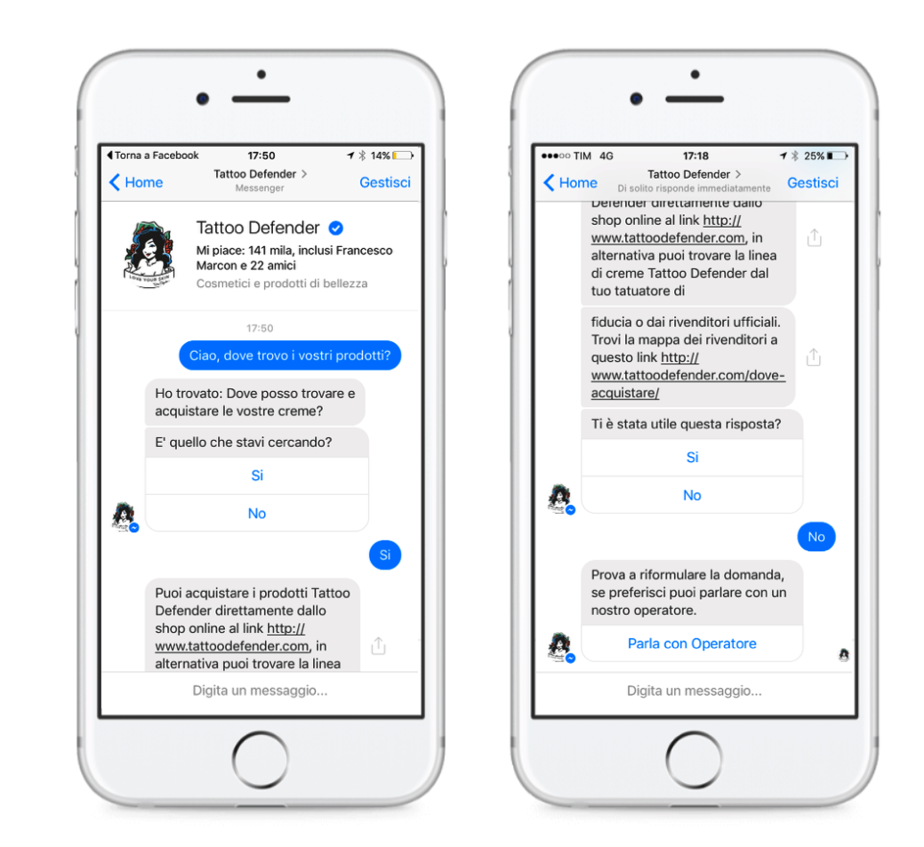 Chatbot Messenger, l'Assistente Virtuale per i clienti
