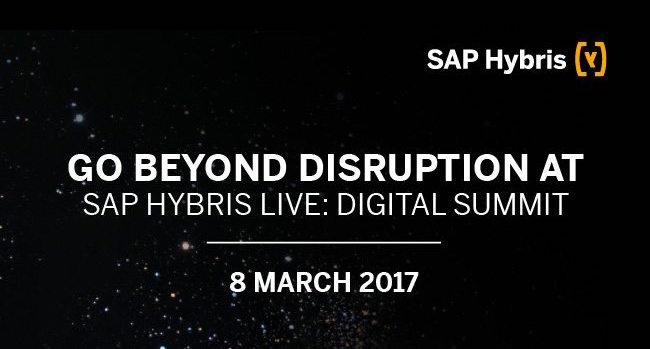 SAP Hybris Live Digital Summit in diretta streaming l'8 marzo