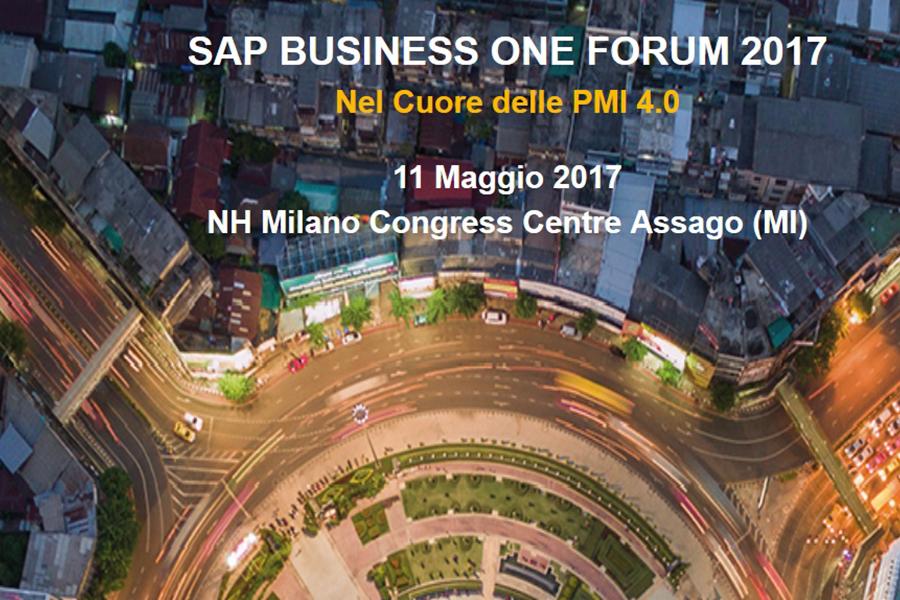 Evoluzione 4.0 delle PMI: SAP Business One Forum 2017