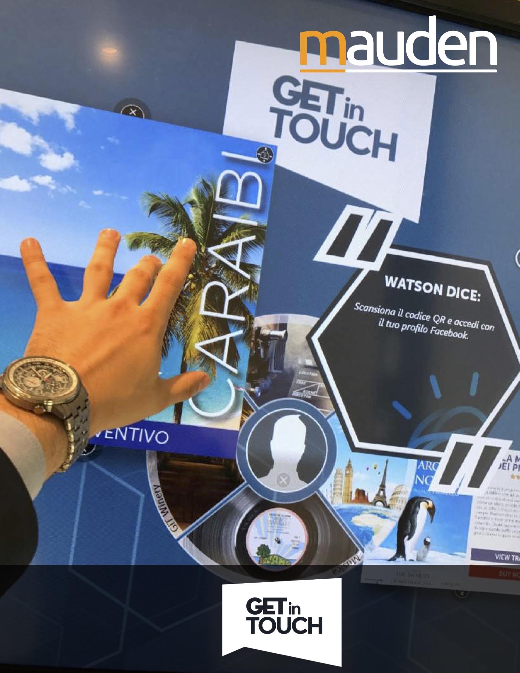 GETinTOUCH: digital signage interattivo per una nuova CX multichannel