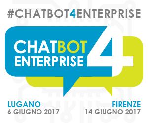 #chatBOT4enterprise fa tappa a Firenze il 14 giugno
