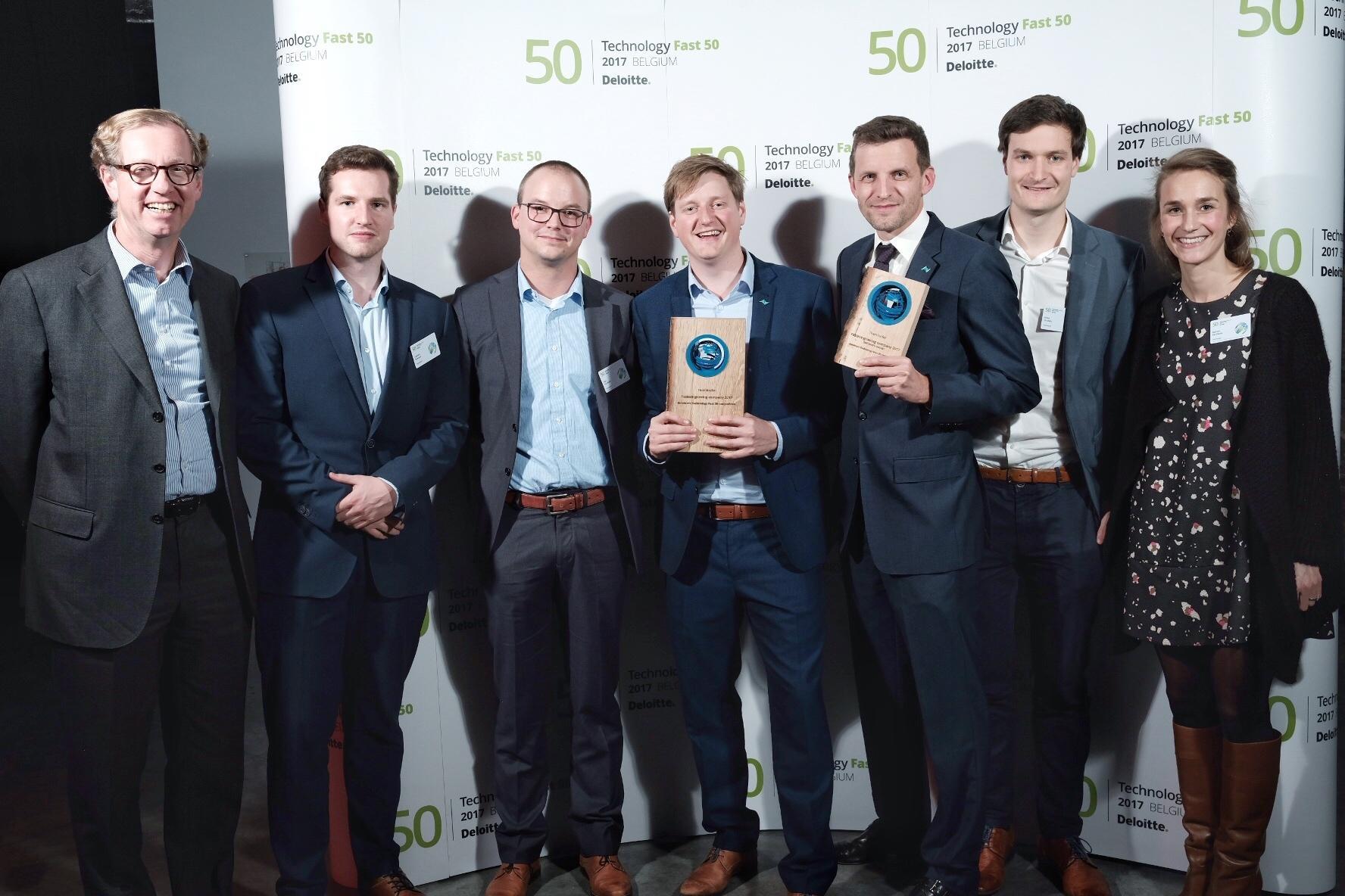 Deloitte's Technology Fast 50, Teamleader al primo posto