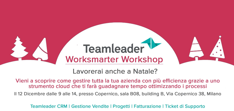 Worksmarter Workshop – Teamleader