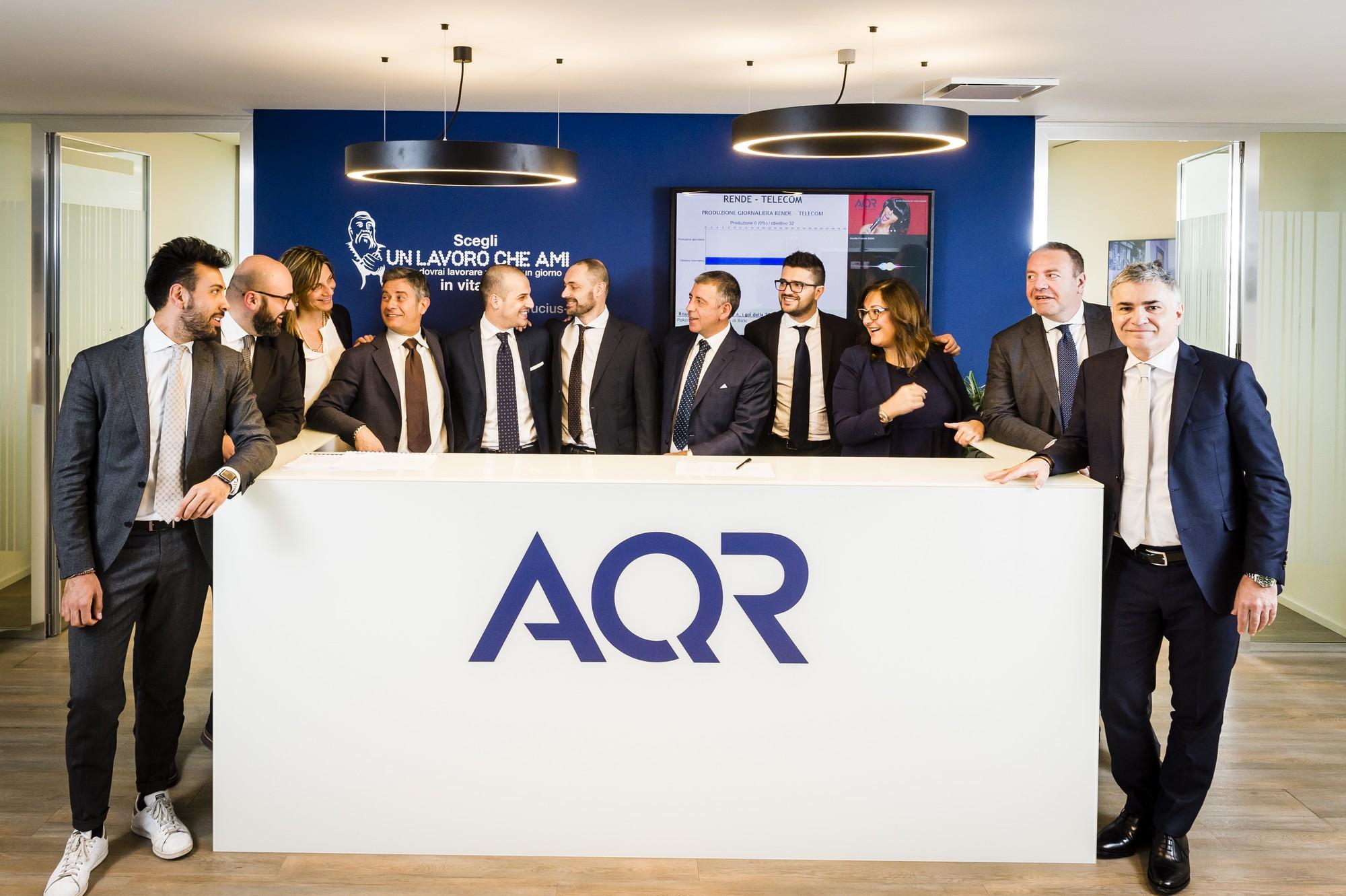 Assocontact accoglie il gruppo AQR