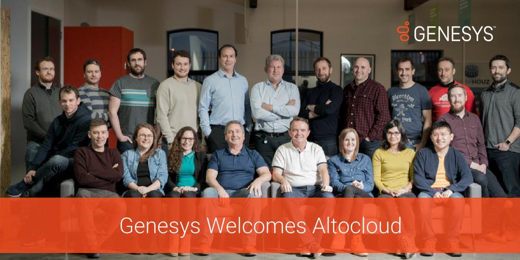 Genesys ha completato l'acquisizione di Altocloud