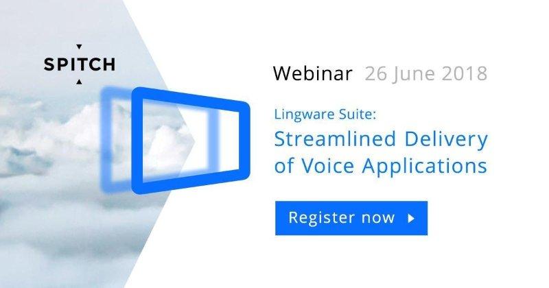 App vocali personalizzate con Lingware Suite: il webinar di Spitch