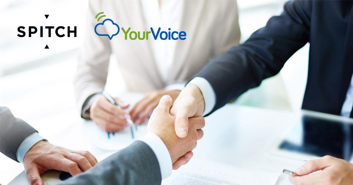 Your Voice e Spitch: una nuova alleanza nelle Tecnologie Vocali