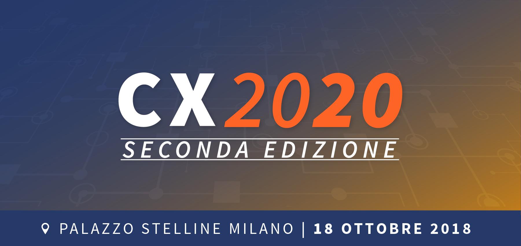 CX2020 – Seconda edizione