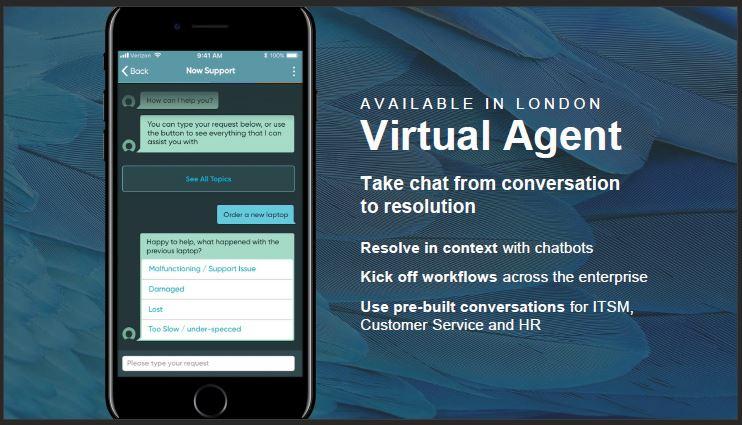 ServiceNow presenta Virtual Agent, la soluzione che risolve al volo le richieste degli utenti