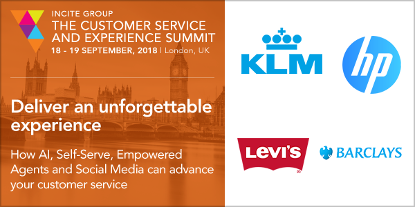 Customer Service & Experience Summit di Incite Group: appuntamento a Londra