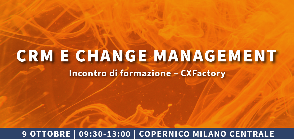CRM & Change Management  – seconda data