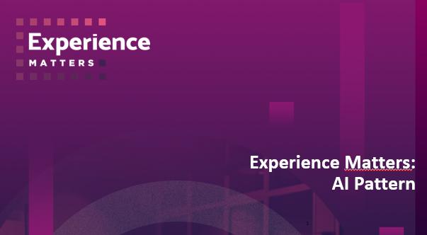 Ricerca Experience Matters: l'esperienza degli utenti con le IA è positiva