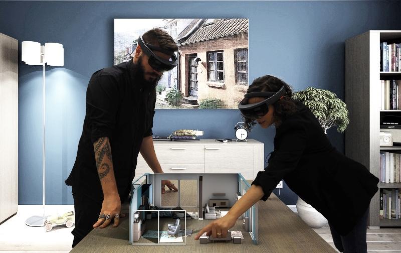 Hevolus e Natuzzi, la mixed reality per la casa del futuro