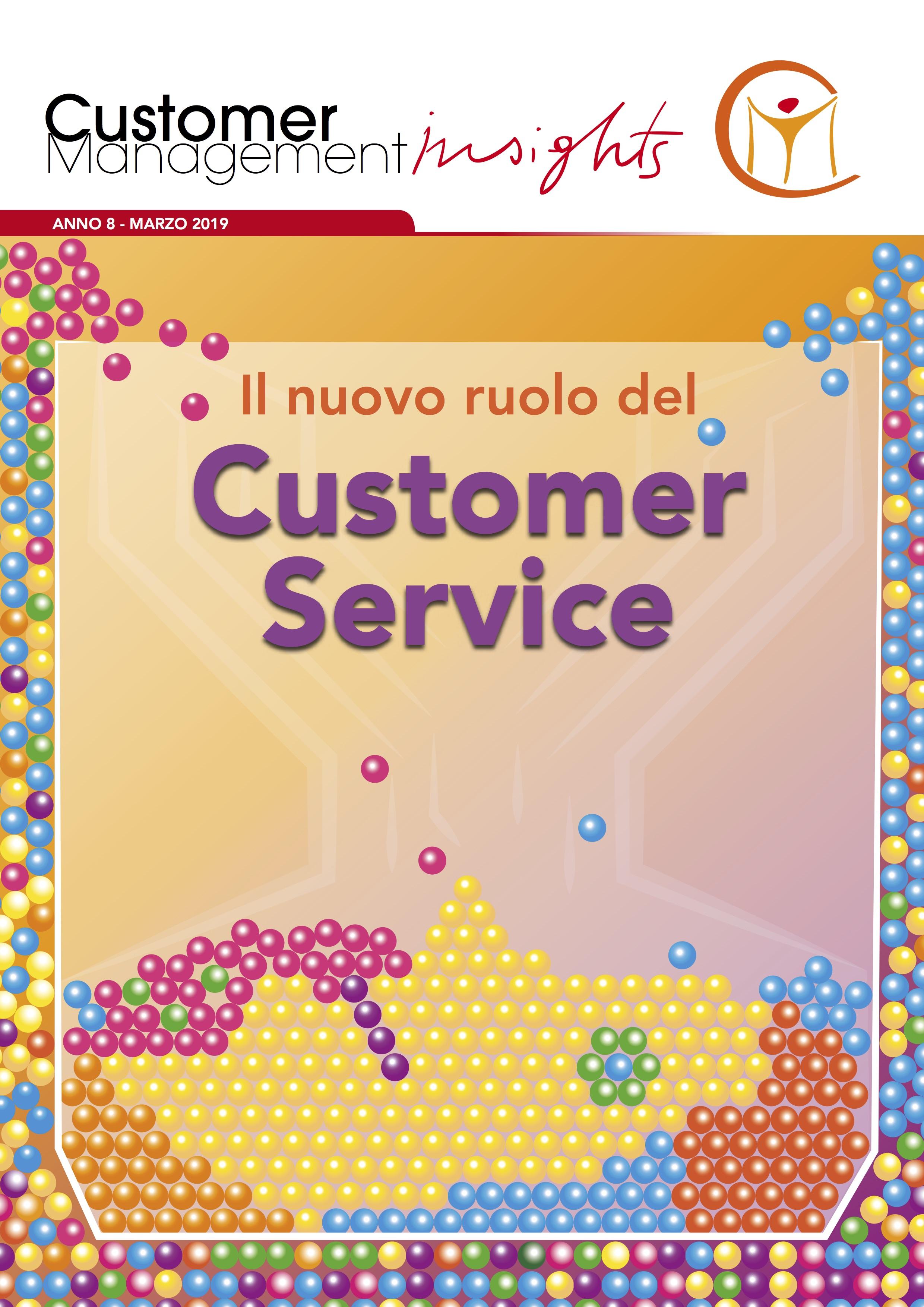 Il nuovo ruolo del Customer Service  – Monografia