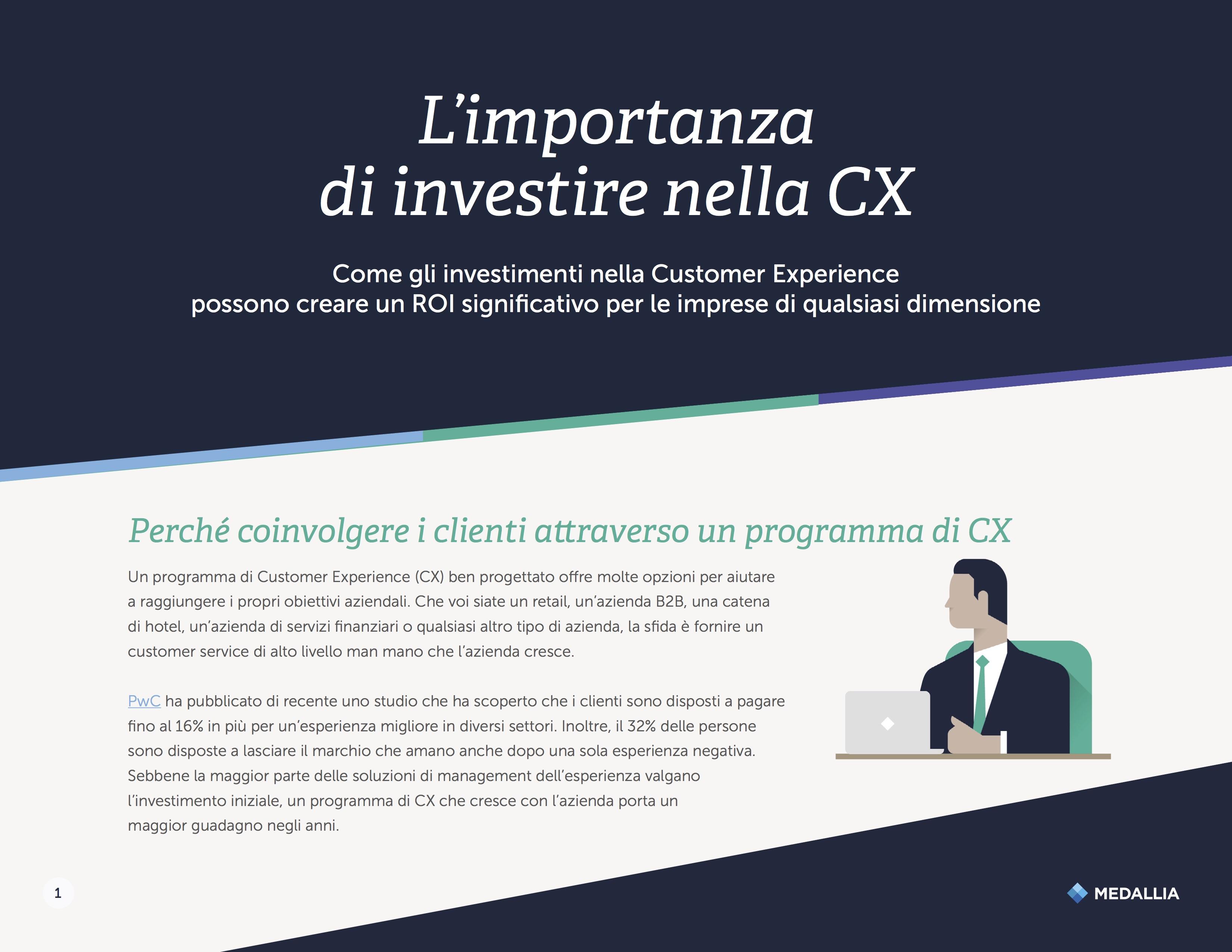 L'importanza di investire nella Customer Experience