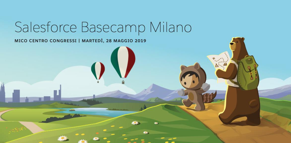 La Quarta Rivoluzione Industriale al Salesforce Basecamp 2019