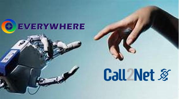 Everywhere insieme a Call2net per offrire innovazione ai suoi clienti.