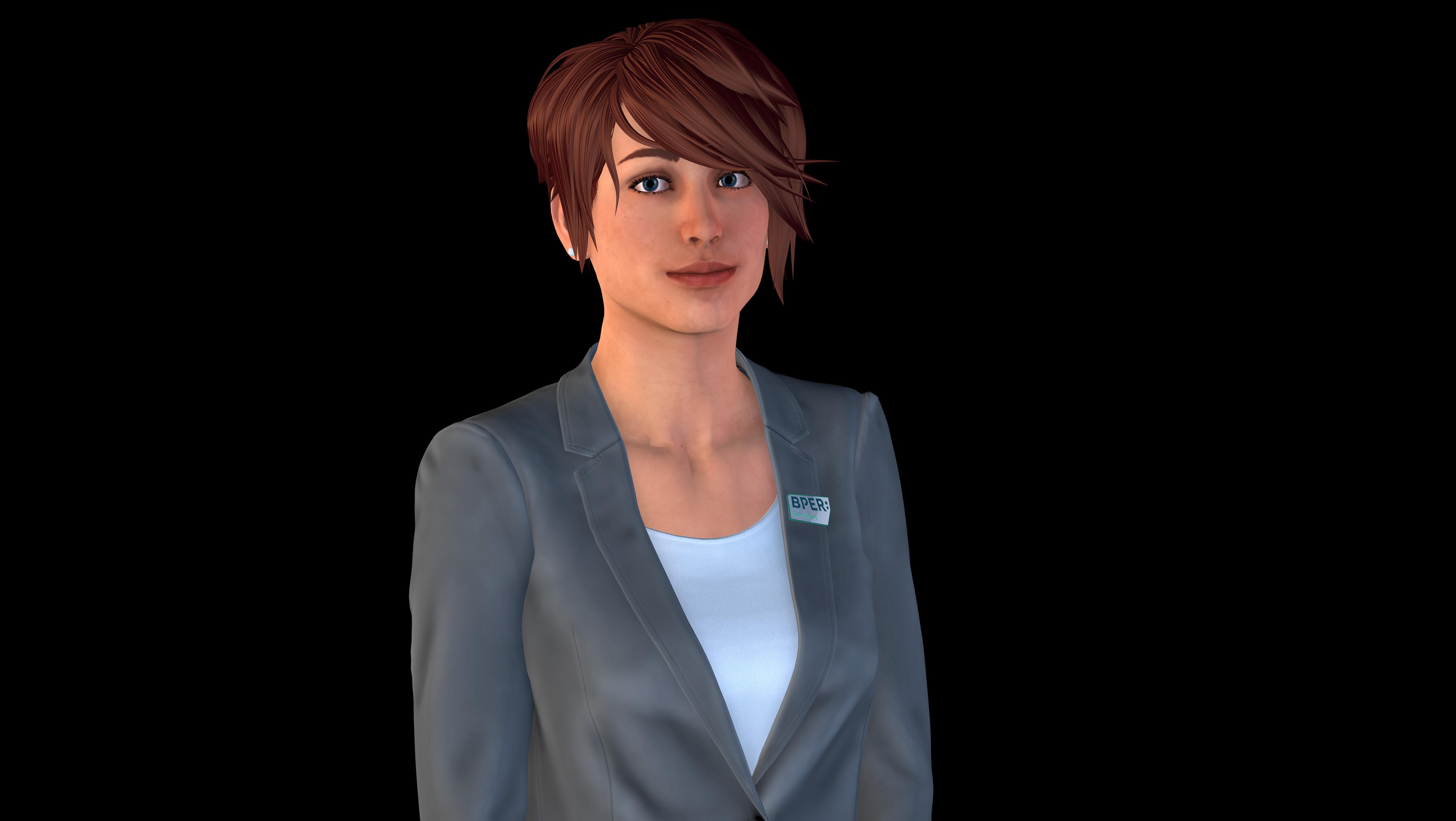 Arriva Valentina, l'umanoide empatico per migliorare la CX