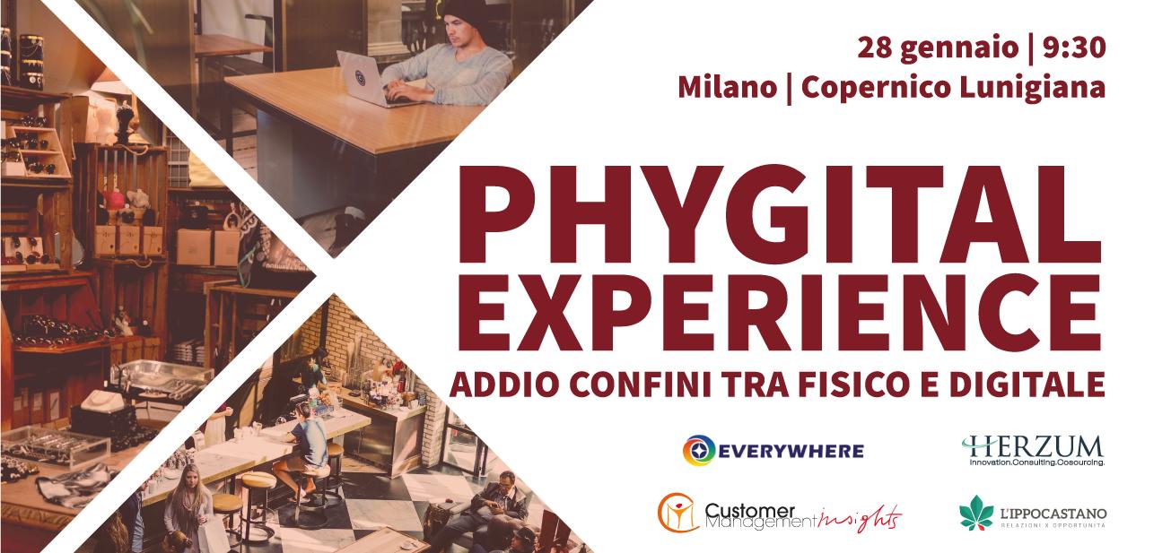 Phygital Experience: addio confini tra fisico e digitale