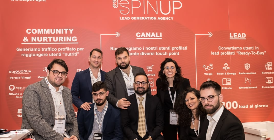 Vinta è la soluzione innovativa di lead conversational marketing di Spinup