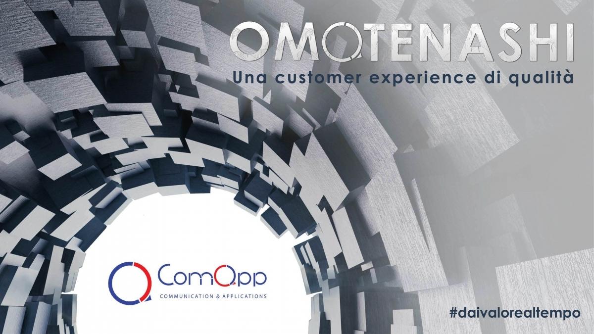 Omotenashi, l'evento di ComApp sull'armonia e la cura del cliente in streaming