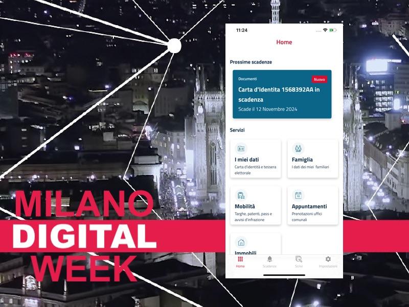 Presentata alla Digital Week l'app del Fascicolo del Cittadino