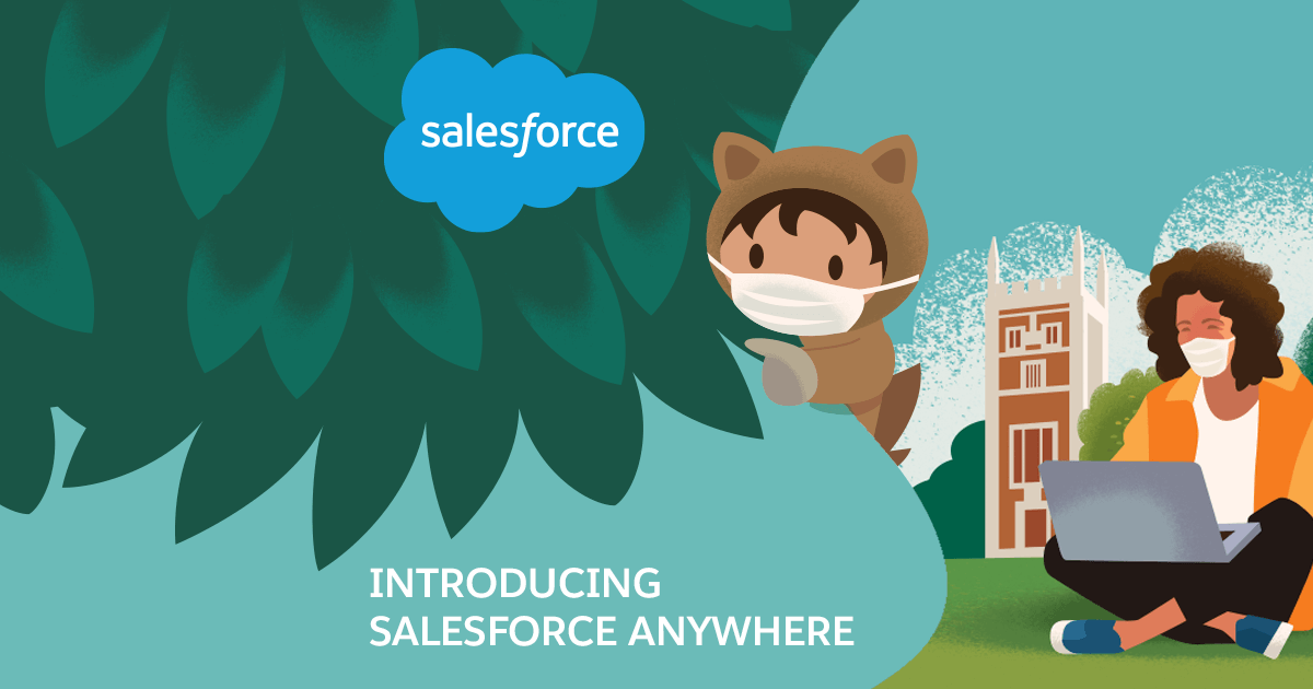 Salesforce presenta Salesforce Anywhere, la nuova app per lo smart working
