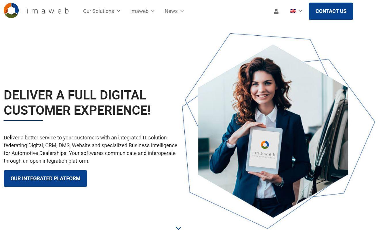 Nasce il nuovo brand Imaweb, per una CX completamente digitale