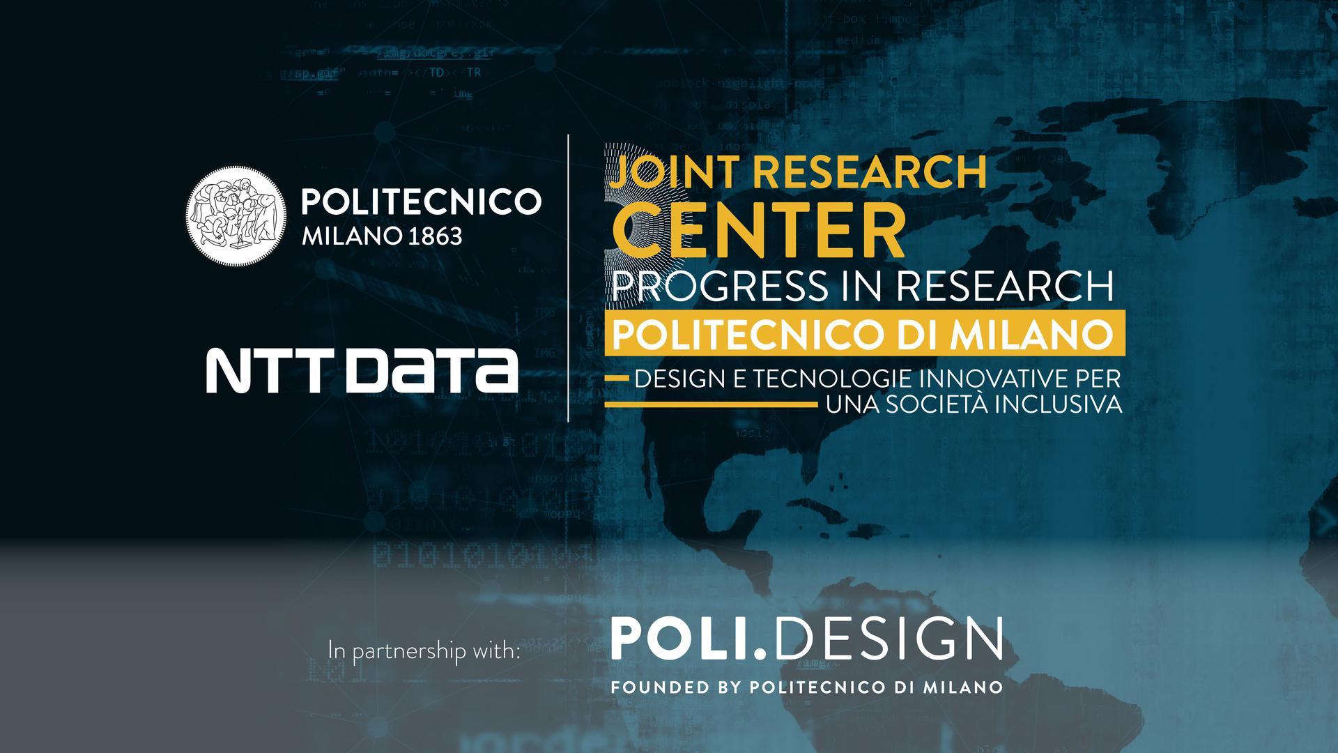 Partnership tra NTT DATA, PoliMi e POLI design all'insegna dell'innovazione