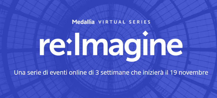 Medallia re:Imagine –  tre settimane di eventi online