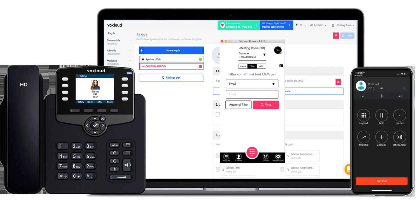 Voxloud presenta il centralino in cloud per agevolare lo smart working