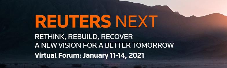 A gennaio si terrà Reuters Next: il virtual summit per guardare al futuro