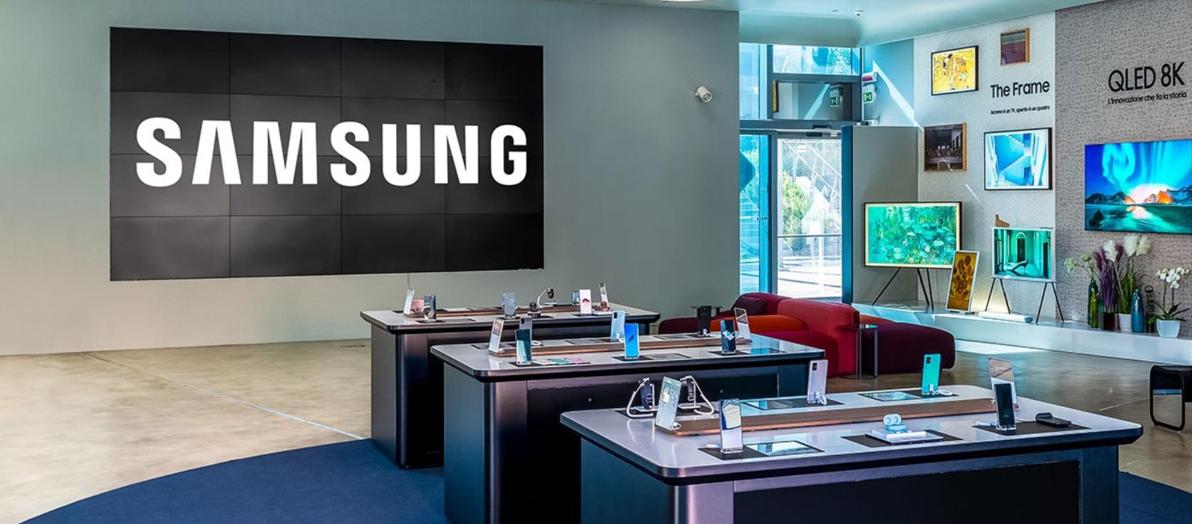 Samsung offre un'esperienza d'acquisto e brand experience personalizzate